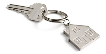 House Key-chain with Key